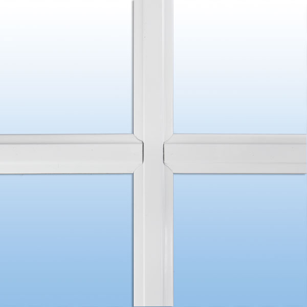 """1"""" beveled window grid"""