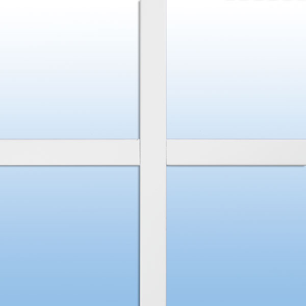 "3/4"" flat window grid"