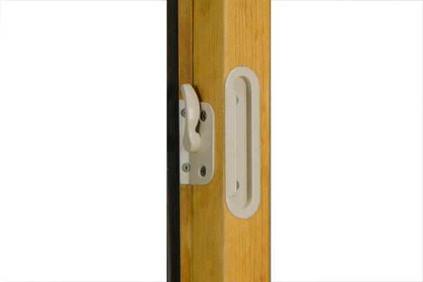 fusionwood window lock and handle