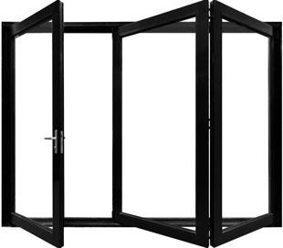 aluminum Multiple Folding Door Product Photo