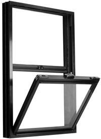 Aluminum Series Single Hung Window Image