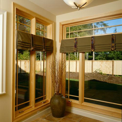 Fusionwood series pine interior frame